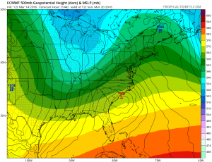 euro144 Euro Model Shifts Colder Snow Bullish