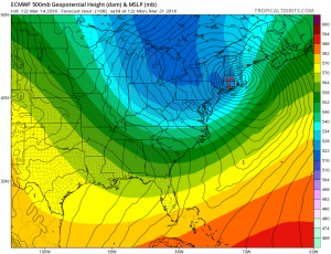 euro168 Euro Model Shifts Colder Snow Bullish