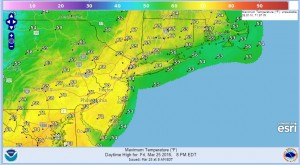friday Easter Weekend Weather Forecast
