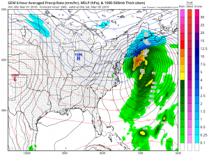 Canadian Weather Model Gfs Model