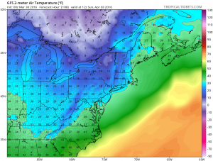 gfs108 Strong Winds Return Saturday Night