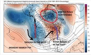 gfs114 Blowtorch Pattern Change Coming