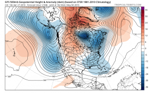 gfs168 Spring Blocking Continues