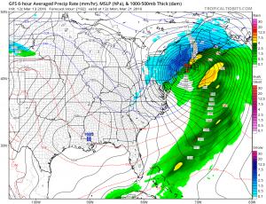 gfs192 Euro Weather Model Analysis