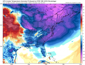 gfs222 Euro Model Cold Shot Next Weekend
