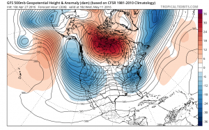 gfs336 Spring Blocking Continues