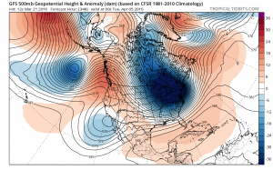 gfs348 Long Range Cold Early April