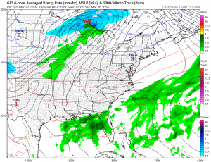 gfs96 Easter Sunday Looking Good