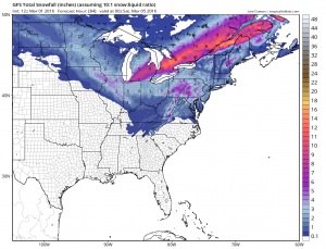 gfssnow Euro Model Canadian Model Gfs Model Updates