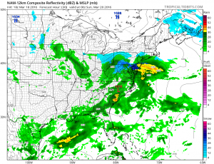 nam30 Weather Model Differences Continue