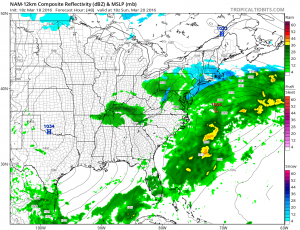 nam48 Weather Model Differences Continue
