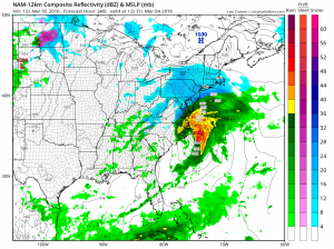 nam48 Windy Colder Snow Threat Looms