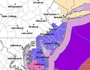 Winter Weather Advisory Central & South Jersey
