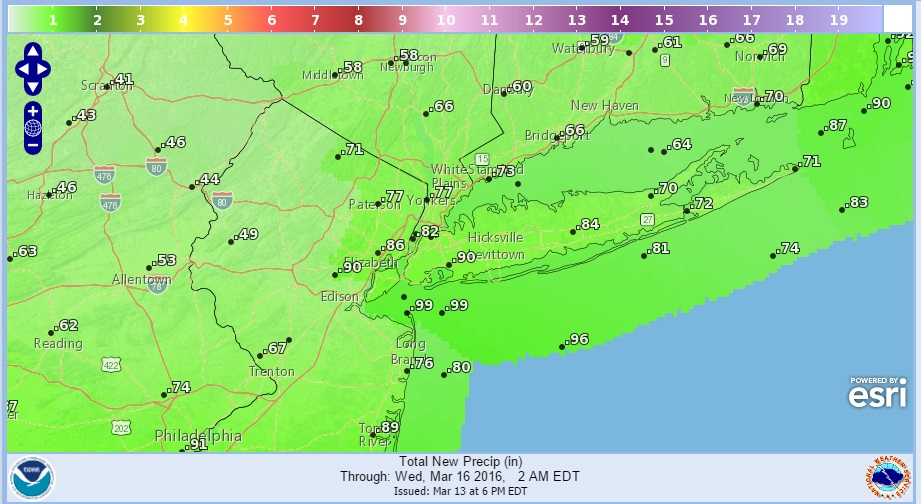 Weather Conditions Deteriorate Monday