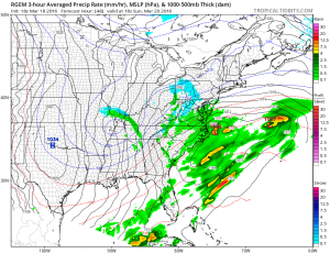 rgem48 Weather Model Differences Continue