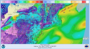 wind Strong Winds Return Saturday Night