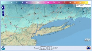 SNOW Snowfall Forecast Biggest Of 2016 For Some Areas!