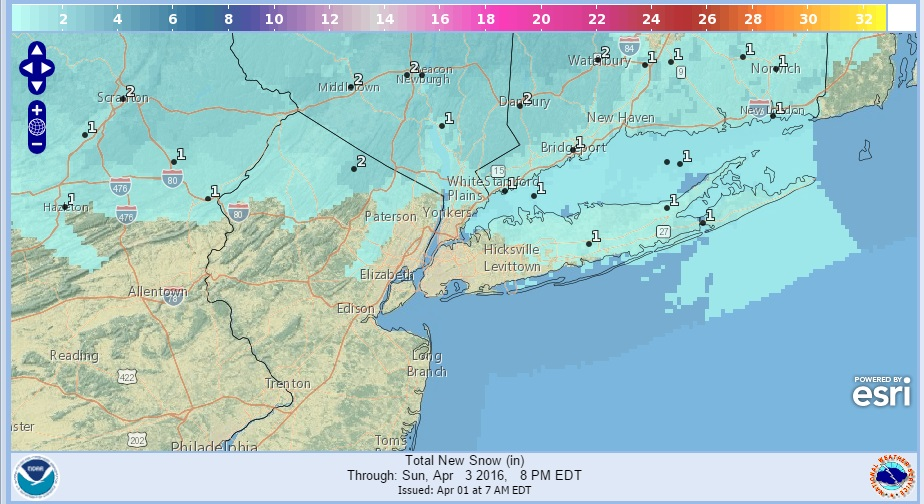 Snow Squalls High Winds Sunday Morning