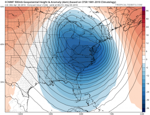 euro120 May Noreaster Threat Growing