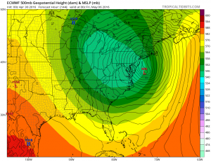 euro144 Euro Model Shows Coastal Low Midweek
