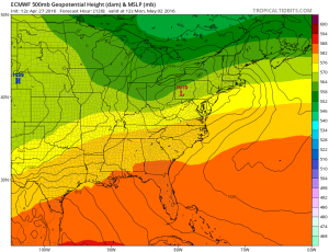 gfs120 Euro Model Paints Ugly Picture Next Week
