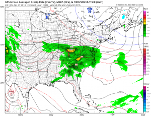 gfs126 Joestradamus Weather Outlook More Blocking
