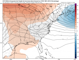 gfs132 Joestradamus Weather Outlook More Blocking