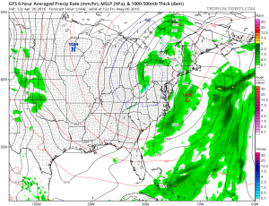 gfs144 Euro Model Shows Coastal Low Midweek
