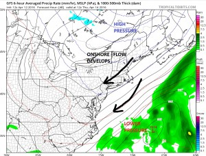 gfs48 Dry Cool Weather Warmer Weekend