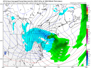 gfs66 Nam Model Shifts Northward