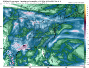 Blocking Could Bring Rain Opportunities