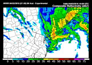 hrrrprecip Thunderstorms Snow Wind Latest Snow Maps