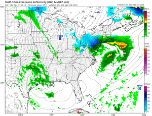 nam51 Weather Forecast Update