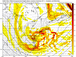 nam69 Nam Model Shifts Northward