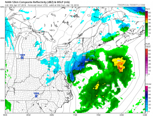 nam72 Nam Model Shifts Northward