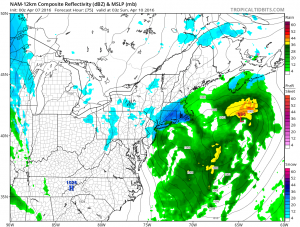 nam75 Nam Model Shifts Northward