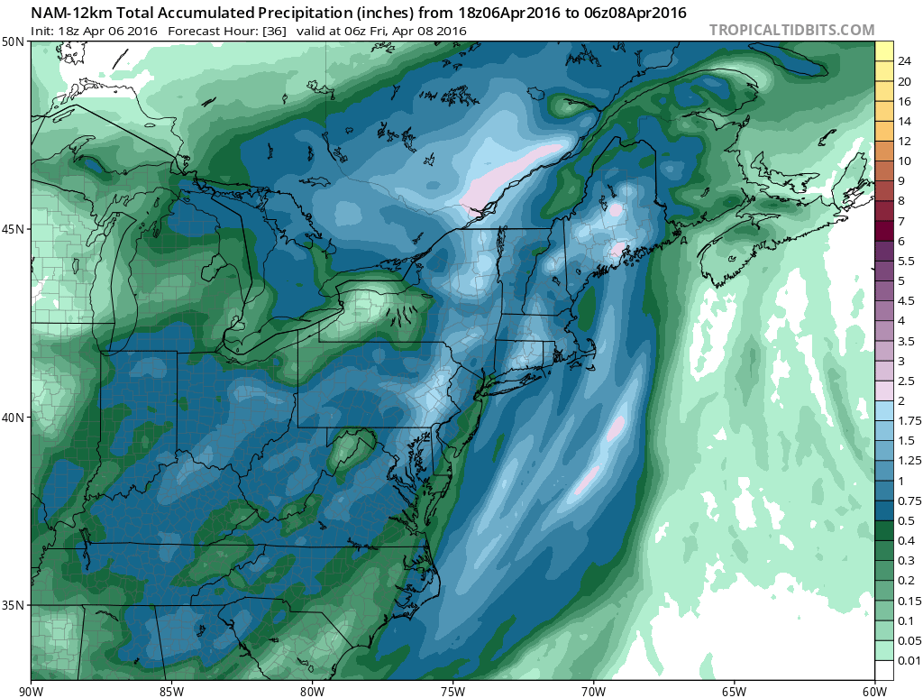 Showers Thunderstorms Thursday