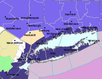 Winter Weather Advisory Southeast New York Connecticut