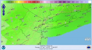 precip Showers Thursday Cold Weekend