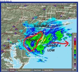 radar Snowing South Jersey
