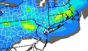 rapsnow Thunderstorms Snow Wind Latest Snow Maps