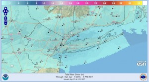 Snowfall Forecasts National Weather Service More Evening Showers Thunderstorms