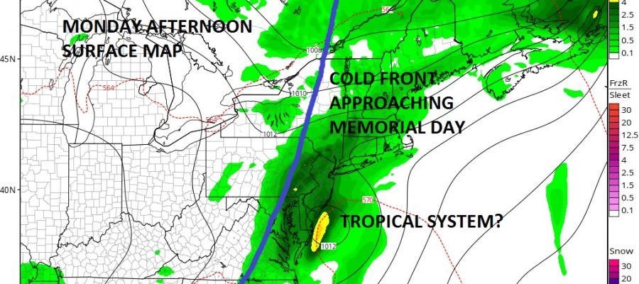 Memorial Day Hinges On Tropical System