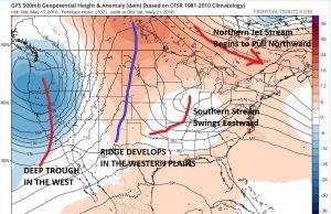 gfs102 Coastal Low Threat Weekend Next Week