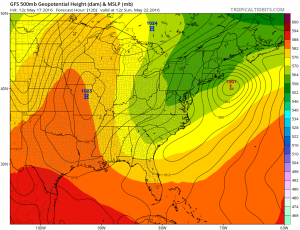 gfs120 Coastal Storm Threat Next Week Continues GFS EURO MODEL UPPER AIR MONDAY