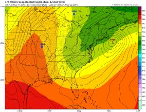 gfs120 Coastal Storm Threat Next Week Continues GFS EURO MODEL UPPER AIR MONDAY