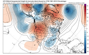 gfs168 Long Range Active Cool Start to June