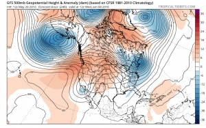 gfs240 Long Range Active Cool Start to June