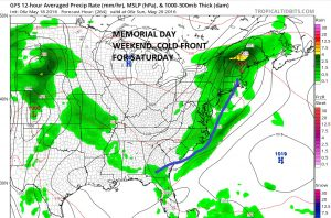gfs264 Memorial Day Weekend Weather