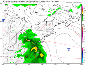 gfs48 Weather Models Trending South